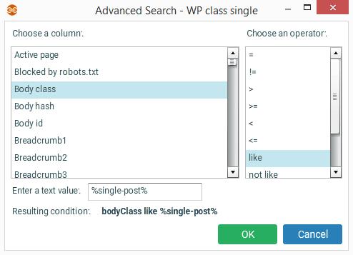Wordpress body class filter